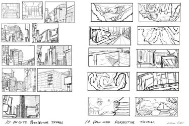 Perspective thumbnails by FlamesofFireLily
