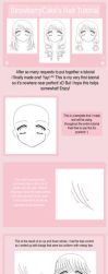 Hair Tutorial by strawberrycake
