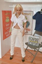 Sixth scale female figure clothes, shirt and pants by Hegemony77