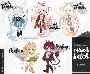 species - mixed batch adopt [closed] by amepan
