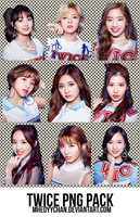 [render #86] TWICE PNG Pack by MhedyyChan