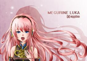 Vocaloid: Megurine Luka by sievour