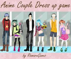 Anime Couple Dress up game by Rinmaru