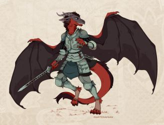 Dragon knight by morteraphan