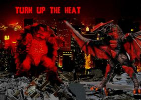 Turn up the heat by Gyaos2008