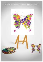 Creativity poster - Wasaet by amrtalaat