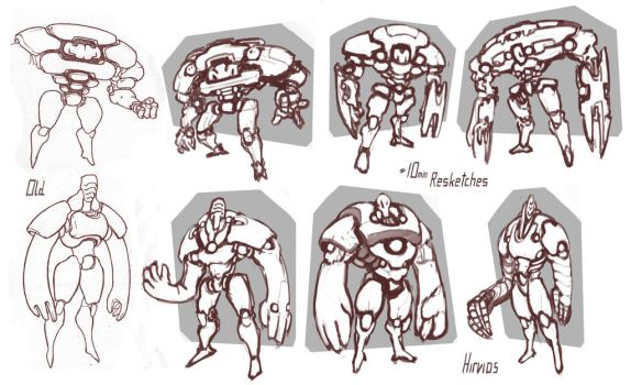 Quick Re-Sketches 14 by HIRVIOS