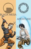 half life vs portal by gorrin