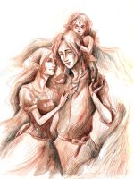 Dragon's family by Aniril-Amakiir