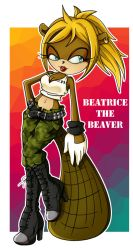 Beatrice the Beaver by SuperSonicApril