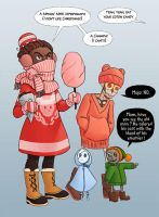 Merry Christmas from France! by kineko
