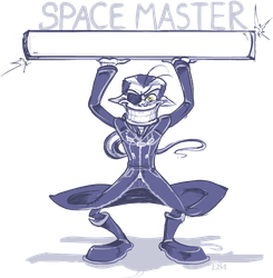 Xigbar - master of space by Eclipse84