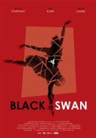 Black Swan movie poster by OllieBoyd