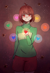 -- Chara -- Undertale -- by UMarble