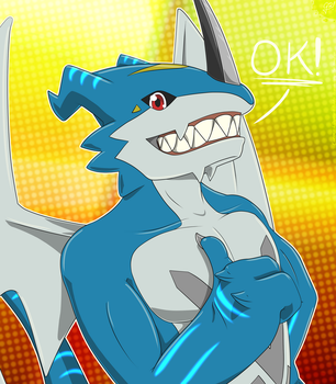 Exveemon approves it | Drakostyle by G3Drakoheart-Arts
