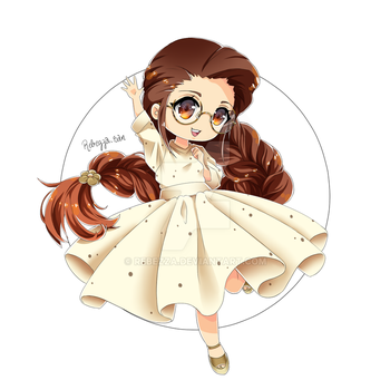 Chibi commission + Timelapse on YT by Rebezza