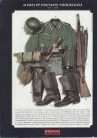 German Infantry Sergeant, 1939-1940 (1941) by AnAspieInPoland
