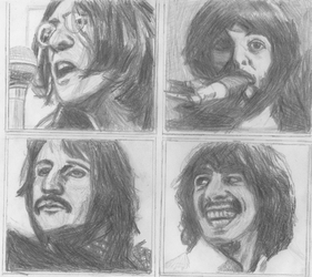 The Beatles by RodCastART
