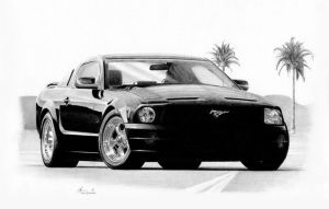 2005 Mustang concept by Boss429