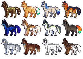 Doggustus - Adoptables OPEN by Pimsri