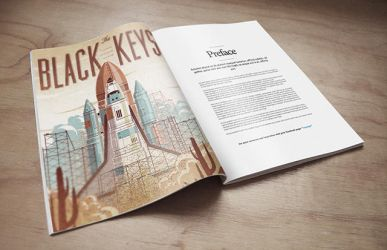 Magazine Mockup PSD Freebie by EAMejia