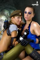 More fighting girls by cosplayerotica