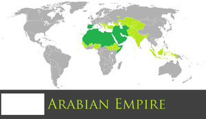 Greater Arabian Empire by PrussianInk