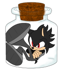 Brother Dark In A Jar by BluethornWolf