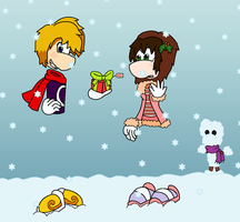 RxK Christmas gift Collab by GreenySolitare