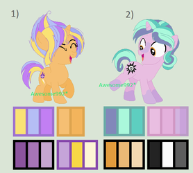 Starlight Glimmer and Sunburst Adopts (closed) by awesome992