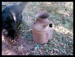 An old water jug by kandi