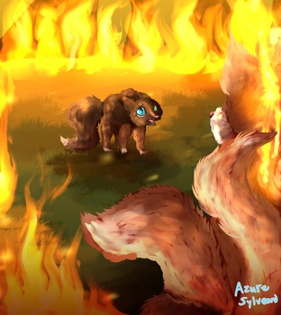 Hey can you maybe stop setting the forest on fire by AzureSylveon