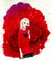 Red red rose by Ketutar