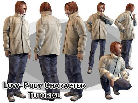 3ds Max LowPoly Character Modeling by Athey