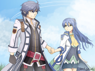 Bonding Event. (Rean x Laura) by CaiusNelson