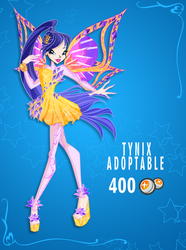 Winx: Tynix Adoptable CLOSED by DragonShinyFlame