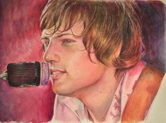Greg Lake portait by stefynik