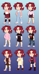 SF: Pip's Outfit Chart by pianobelt0