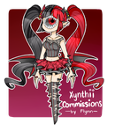 [Commission Type]: Xynthii Outfit [LOWERED PRICES] by SimplyDefault