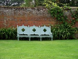 green bench by ditney