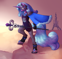 anthro queen Radiant Hope by TwitchyGears