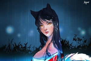 Ahri by KORHIPER