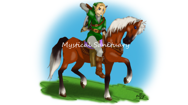 Link The Legend of Zelda Ocarina of Time by ChiiLissa