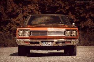 1969 Plymouth Road Runner Front by AmericanMuscle