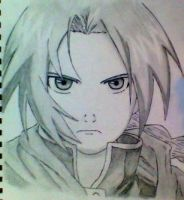 Edward Elric by taffz