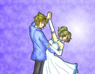 May I Have This Dance Lady Lunafreya by MadeInHeavenFF15