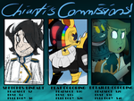 EMERGENCY COMMISSIONS 2017-18 by Ashuribbon