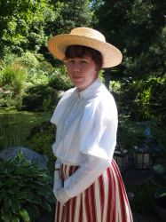 1890's summer ensemble by WhimsicalSquidCo