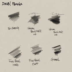 Free Pencils for Manga Studio 5! by paololimoncelli
