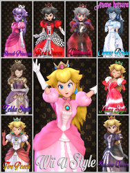 MMD Nintendo:Princess Peach V2 by AmaneHatsura